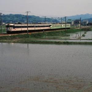 上越線165系 おいしいお米作りを支える 1995-05-07