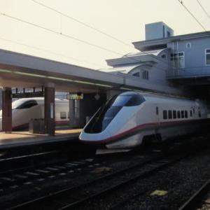 奥羽本線485系 特急こまくさ号といなほ号に乗車 1997-05-03