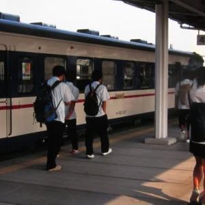 仙山線455系 塗り替えらた急行型電車 2000-08-29