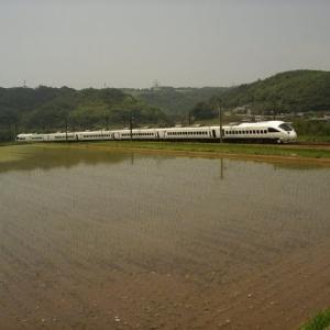 日豊本線783系 梅雨晴れの下で 2007-06-30