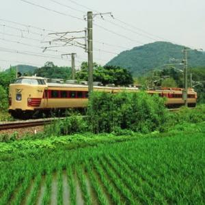 日豊本線485系 特急かもめ70周年記念号回送 2007-06-30