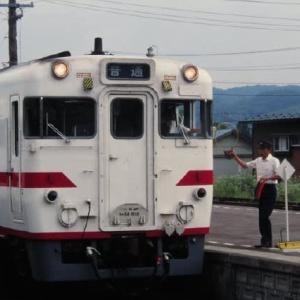 花輪線キハ52 ポツンと1両気動車 1996-07-28
