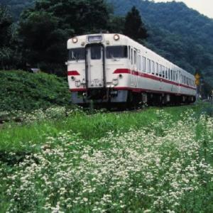 花輪線キハ58 Kenjiを目撃 1996-07-28