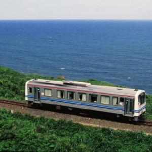 山陰本線キハ120形 当時はトイレが無かったよ 1995-08-12