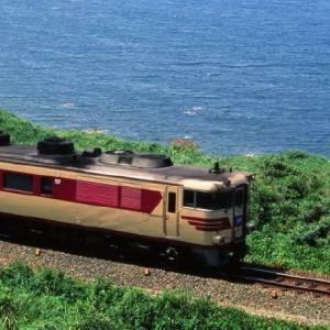 山陰本線キハ181系 下関発米子行の特急おき2号 1995-08-12