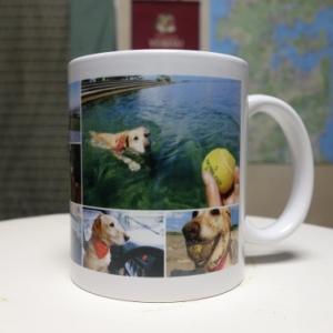 愛犬のオリジナル・マグカップを作ったヨ!