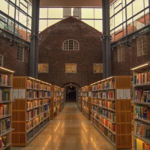 遠くの観光地より近くの図書館【大型連休】