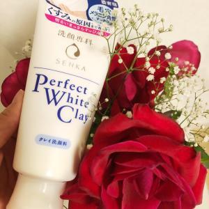 ミクロ濃密泡&ワントーン明るいお肌に♡洗顔専科 パーフェクト ホワイトクレイ