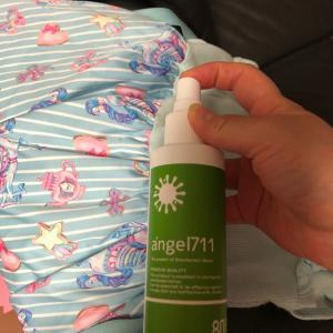 枕も靴も除菌&消臭ケア♡ANGEL711 80ppm フィンガースプレー