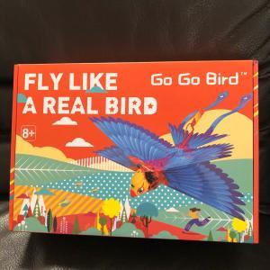 キャンプや自宅でも楽しめるリアルな鳥型ドローン「Go Go Bird」