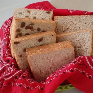 酒種 ライ麦&大豆粉入り食パンと大豆粉おやつ