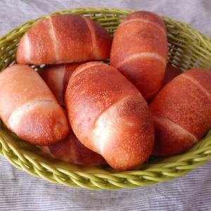 ヨーグルト酵母☆中種でロールパン