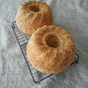 酒種 米粉入りゴマパン