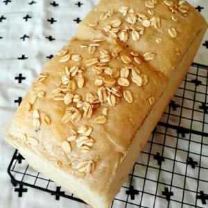酒種★オートミール山食パン