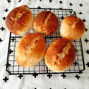 酒種★米粉100%パンとレーズン酵母ストレート適当パン
