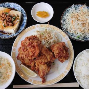 泰和軒で鶏唐ランチ