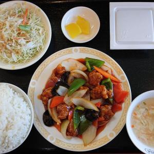 泰和軒で酢豚ランチ