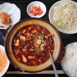 泰和軒で麻婆豆腐ランチ