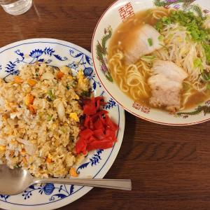 宇品の食堂で廣島ラーメン