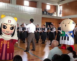 大阪桐蔭高校吹奏楽部さんとコラボ