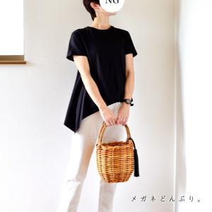 【今日の服】モノクロコーデ&カンカン帽ポチったった。