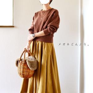 【今日の服】届いたスカートとネックレス試着~♪