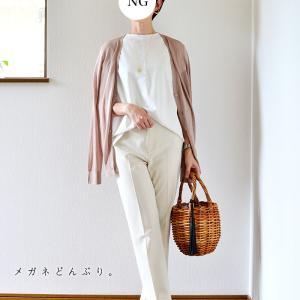 【今日の服】ユニクロ夏カーデできれいめコーデ&マリトッツォで夏越しの祓い?