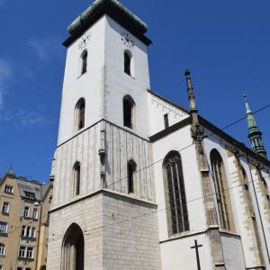 夏旅☆チェコ 聖ヤコブ教会の地下納骨堂