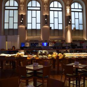 夏旅☆チェコ シアトリノホテルの朝食