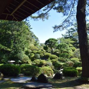 夏旅☆山形 温泉と食の旅 本間美術館・庭園鶴舞園