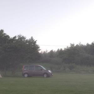 木陰で避暑~弥生パークキャンプ場②