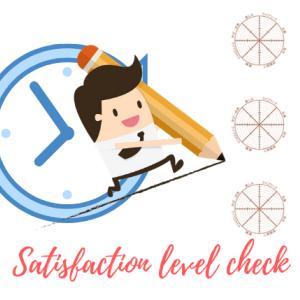 【逆算手帳ウェブ講座06】ライフビジョン作成④満足度チェックをしてみよう!