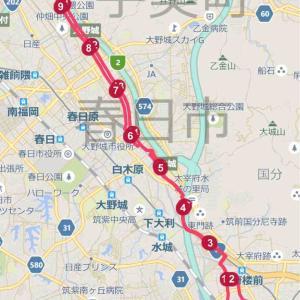 今年のGWは100キロ歩こう企画 最終日5日目