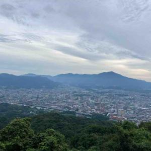 天拝山トレイル