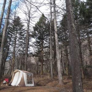 寒波襲来…北軽井沢へいざ冬キャンプ!