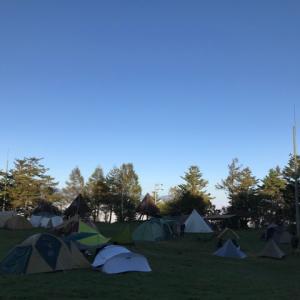 秋の味覚!!松茸を求めて鹿嶺高原キャンプ場へ。こっそり新幕も…。