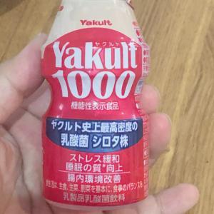 ヤクルト1000ですって!