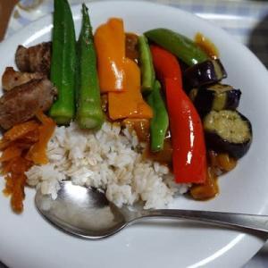 『夏野菜カレー』