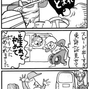 国際運転デビューのその日にオービスがっ!