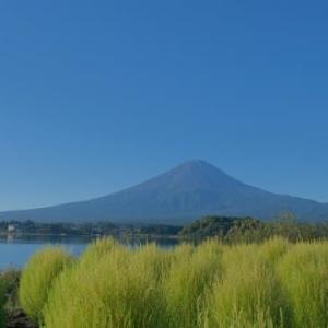 sakeの歩窓から(9月に富士山)