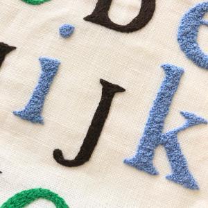 アルファードの刺繍