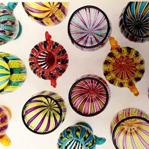 ガラスアート作家さんの個展とマイグラス