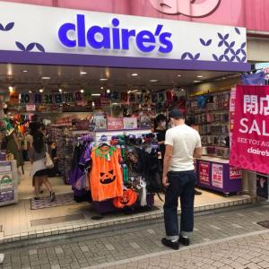 【原宿】クレアーズ閉店セール