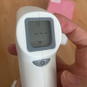 中国産体温計で摂氏と華氏の切り替えができなくなる件(紅外体温計)set-02