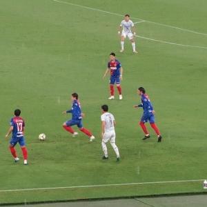 FC東京 3-1 G大阪 J1・18節 ピッチが田圃でした・・・