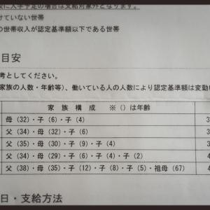 2343 入学準備『就学援助』申請
