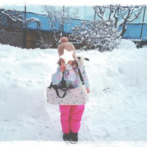 2349  大雪とNATURAL BEAUTY BASIC♡