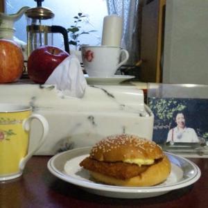 トワィライトカフェ◎「フィッシュバーガー」