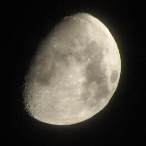 ミッドナイト☆カフェ・久方に月を眺める