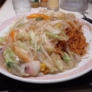 ソトめし「野菜タップリ皿うどん」